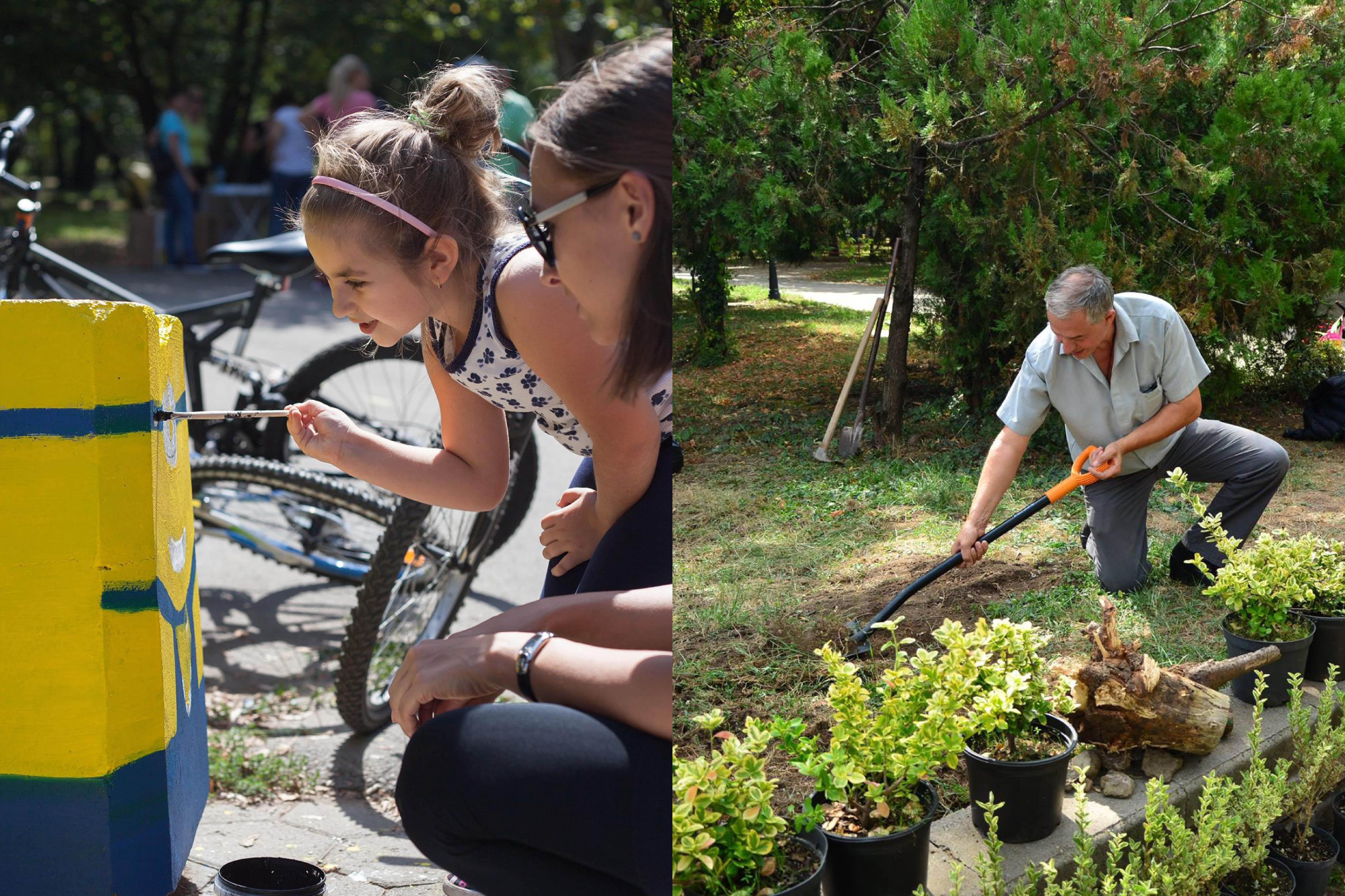 Работа с доброволци